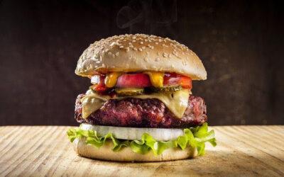 O hambúrguer vegetariano é menos saudável que o de carne